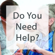 do you need help senior solutions website buttons